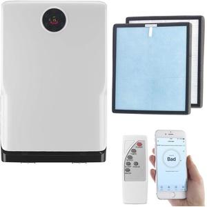 Sichler Haushaltsgeräte Luftfilter: 6-Stufen-Luftreiniger mit UV, Ionisator, WLAN, inkl. HEPA13 Filter (Air Purifier)