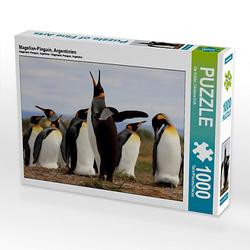 Magellan-Pinguin, Argentinien Lege-Größe 64 x 48 cm Foto-Puzzle Bild von Ute Köhler Puzzle