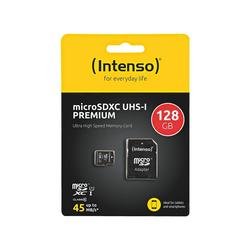 Intenso Premium Speicherkarte (128 GB, 45, für Handy & Smartphone)