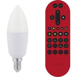 LeuchtenDirekt 08203-1 LED EEK A+ (A++ - E) E14 Kerzenform 6W 1St.