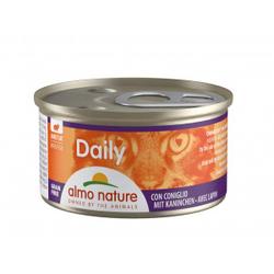 Almo Nature Daily Mousse met Konijn 85 gr  48 x 85 gram