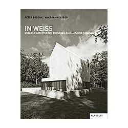 In Weiß. Wolfgang Kleber  Peter Brdenk  - Buch