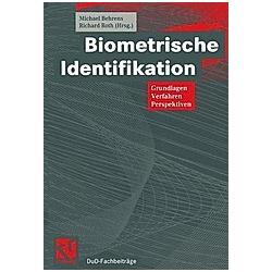 Biometrische Identifikation - Buch