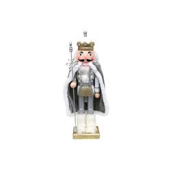 SIGRO Weihnachtsfigur Holz Nussknacker König
