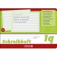 Brunnen Schreiblernheft Lineatur 1q) A5 quer, 16 Blatt