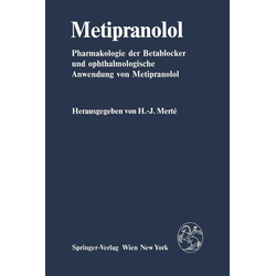 Metipranolol: eBook von