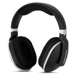 TechniSat StereoMan 2 Funkkopfhörer schwarz/silber Kopfhörer