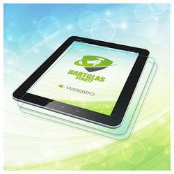 Wigento Tablet-Hülle 2x Premium 0,4 mm Hartglas Schock Folie für Samsung Galaxy Tab S3 9.7 T820 T825
