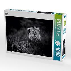 Löwe Lege-Größe 64 x 48 cm Foto-Puzzle Bild von Kirsten Karius Puzzle