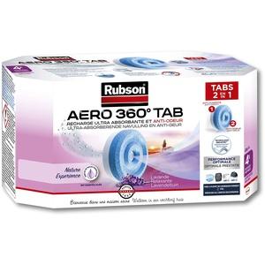 Rubson 1844914 Nachfüllpack für Luftentfeuchter Aero 360, blau, 1844914