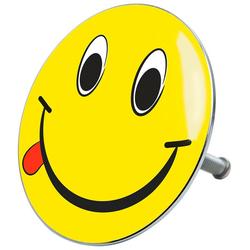 Sanilo Stöpsel Smiley, für Badewannen und Duschen, Ø 7,2 cm