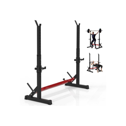 Zehnhase Langhantelstange Hantelständer verstellbar, (Set), maximale Belastung 250 kg, für Krafttraining Hantel