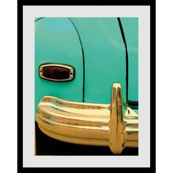 queence Bild Oldtimer, Auto (1 Stück) 50 cm x 60 cm
