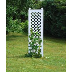KHW Spalier, BxTxH: 43x6x140 cm, weiß