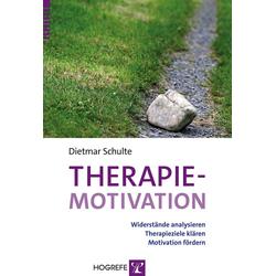 Therapiemotivation: eBook von Dietmar Schulte