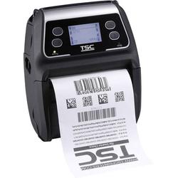 TSC ALPHA-4L Bon-Drucker Thermodirekt 203 x 203 dpi Schwarz USB, Bluetooth®, Akku-Betrieb