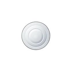 Duralex Speiseteller Lys Transparent, Teller tief 17.5cm Glas transparent 6 Stück Ø 17.5 cm x 4 cm