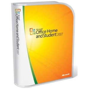 Microsoft Office Home and Student 2007 3 PC Retail-Box inkl. DVD