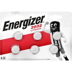 Energizer CR2032 Knopfzellen 6x Knopfzelle, CR2032