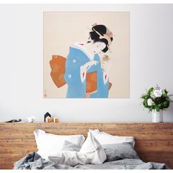Posterlounge Wandbild, Kanzashi Kanzashi 50 cm x 50 cm