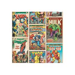 Papiertapete Marvel Action Heroes