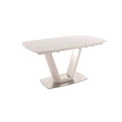 MCA furniture Säulentisch Modell Vanita in weiß