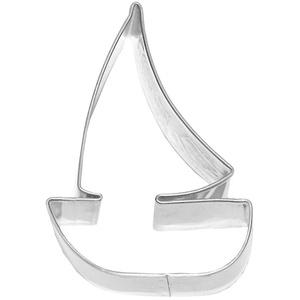 Birkmann 1010698410 Ausstechform Segelboot, Grau, 5 x 3 x 2 cm