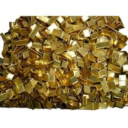 Beutelverschlüsse Verschlußclipse gold-matt 33 x 8 mm 1000 Stück