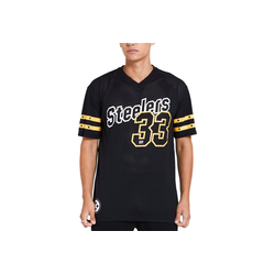 New Era Footballtrikot Oversized Jersey Pittsburgh Steelers M