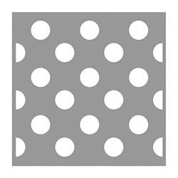 Rayher Dekor-Schablone Polka Dots grau