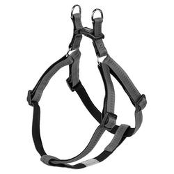 Nobby Geschirr Soft Grip dunkelgrau/schwarz, Brustumfang: 30-40 cm