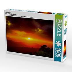 Das Licht der Sonne Lege-Größe 64 x 48 cm Foto-Puzzle Bild von Dirk Meutzner Puzzle