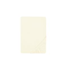 Biberna Spannbetttuch in creme, 140 x 200 x 8 cm