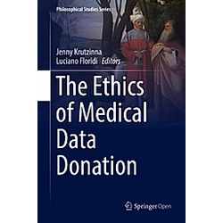 The Ethics Of Medical Data Donation - Buch