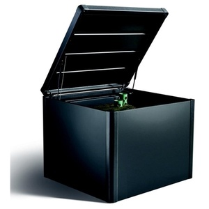 Komposter ''MonAmi'' dkl.gr-met.,102x102x86 cm