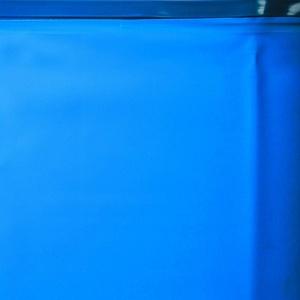 Gre FPR551 - Poolfolie für runde Pools, mit einen Durchmesser von 550 cm, Höhe 120 cm, blau