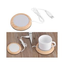 Gotui Tassenwärmer, USB Tassenwärmer Heizmatte Becher Untersetzer