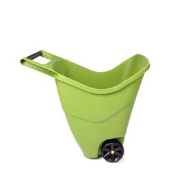 ONDIS24 Schubkarre Gartenschubkarre 85 L Trolley mit Griff Zweirad Kunststoff Outdoor, 85 liter