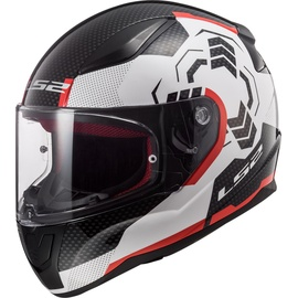 LS2 FF353 Rapid Ghost White/Red