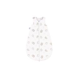 Julius Zoellner Schlafsack in weiß mit Muster Igelchen, Größe 50