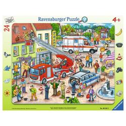 Ravensburger Rahmenpuzzle 110, 112 - Eilt Herbei, 25 Puzzleteile