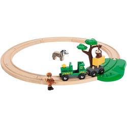 BRIO® Spielzeug-Eisenbahn BRIO® WORLD Safari Bahn Set, (Set)