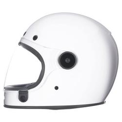 Bell Bullitt solid white weiß S