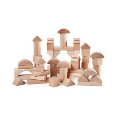 BRIO® Spielbausteine Natur Holzbausteine, 50 Teile
