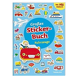 Großes Sticker-Buch Fahrzeuge. Elisabeth Kiefmann  - Buch