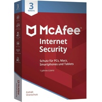 McAfee Internet Security 2020 3 Jahre Win Mac Android iOS