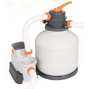 Bestway Flowclear Sandfilteranlage mit ChemConnect und Zeitschaltuhr 5,678 l/h