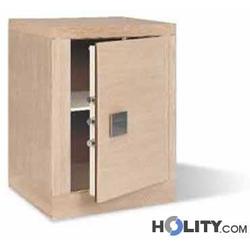Möbeltresor mit Holzverkleidung h3131