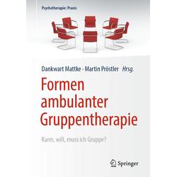 Formen ambulanter Gruppentherapie: eBook von
