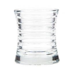 Kerzenglas für Refill Kerzen / Teelichteinsatz, Transparent, Ø 85 mm/H 100 mm, 1 Stück
